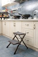 Furniture metal Folding stool Step Shoe bench Child adult Portable stool