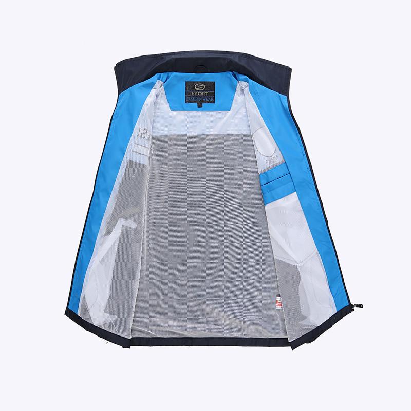 New Arrival Marka Dres Casual Sporta Kostiumu Mężczyźni Mody Bluzy Zestaw Kurtka + Spodnie 2 SZTUK Poliester Sportowej Mężczyzn 4XL 5XL SP019 9