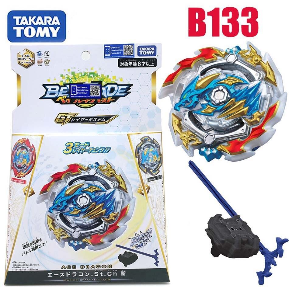Takara Tomy bayblade rafale b133 Saint-empereur-Dragon Gyroscope explosif rotatif à trois transformations bayblade B133