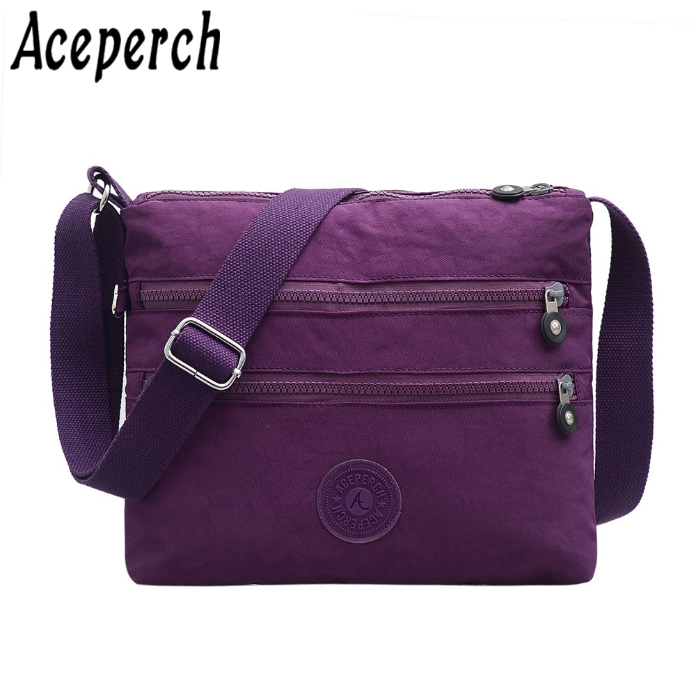 Aceperch Women Shoulder Bags Zipper Small Monkey Handbags Bolsos Mujer Nylon Beach Crossbody Bag Female Sac A Main In Top Handle From Luggage