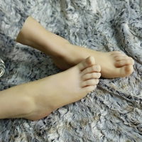 Promotion Realistic Life size sex dolls japanese silicone love doll,mannequin foot for shoes/socks /anklets display
