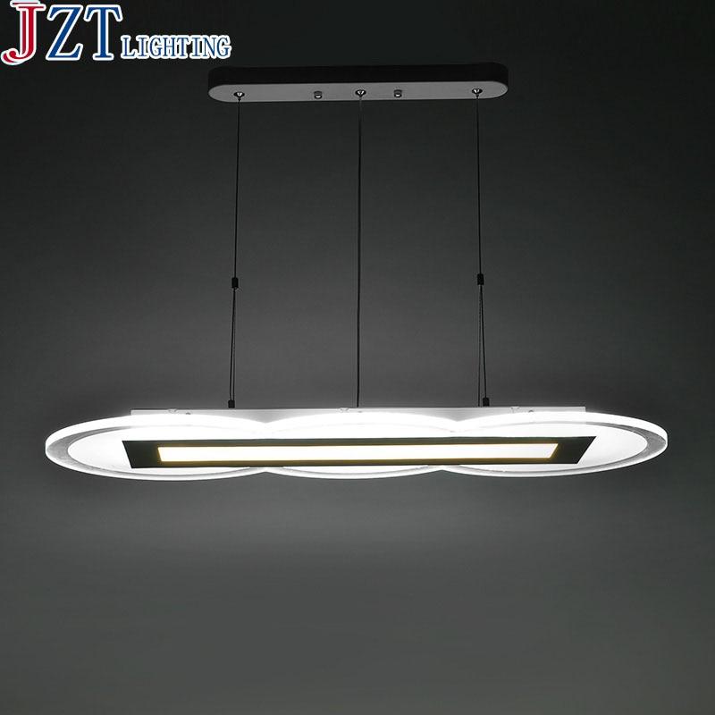 M Led Acrylic Ultra-Thin Restaurant Chandeliers 2/3/4/5 Heads Modern Simple Lamp High-End Office Bar Restaurant Lamp Chandeliers