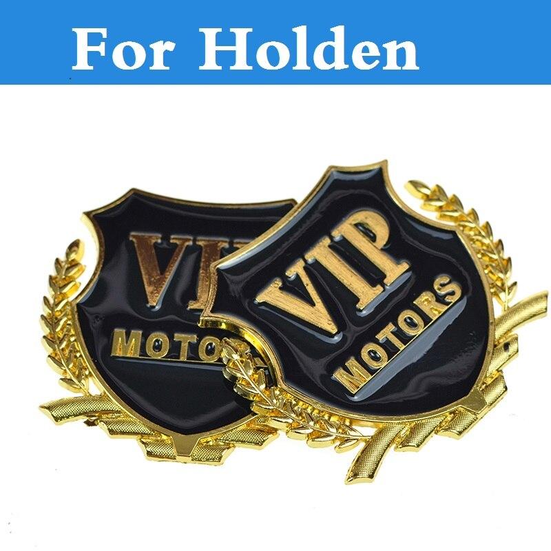 Новый автомобиль VIP боковые окна стикер герба Знак наклейки 2 вида цветов для Holden Barina Кале Caprice Commodore Cruze Monaro государственный