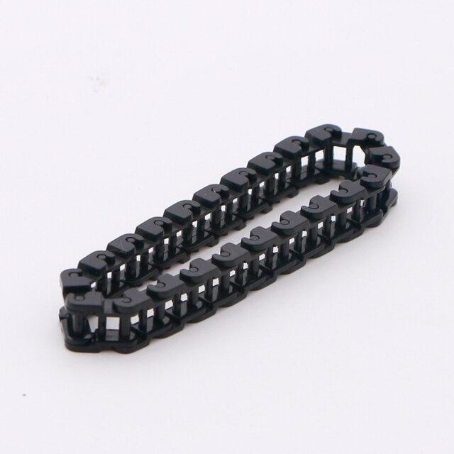 Bricks Technic Onderdelen Bulk Chain Link Gear Spoor Tank Loopvlak Motorfiets Rupsen 3711 Bouwstenen Accessoires Speelgoed Voor Kid