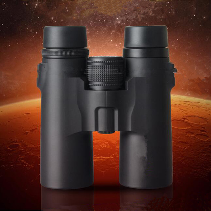 10x42 Outdoor Binoculars Luneta Telescopio Waterproof Telescope Mirror Camping Professional Power Zoom Focus Telescope 1pc 10x50 trumpet soldiers zoom binoculos telescope binoculars telescopio monocular binoculo luneta binocular prismaticos a1995