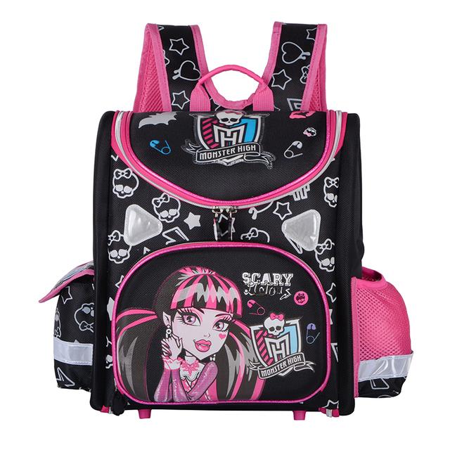 Mariposa gato de la historieta Monster High niños mochilas escolares los niños Stachel EVA ortopédica niñas Mochila mochilas Mochila Infantil