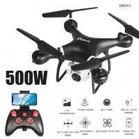 EBOYU LF608 2.4Ghz RC Drone 1080P Wifi FPV HD caméra Altitude tenir une clé retour/atterrissage/décollage sans tête RC quadrirotor Drone