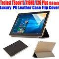 Original tablet pc case para teclast x16hd tbook11 x16 plus 10.6 polegadas de cristal voltar pu leather case capa flip para tbook 11 TL06