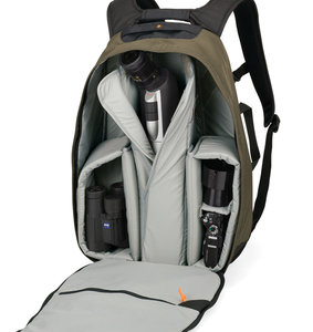 Image 5 - New arrival Lowepro Scope Travel 200 AW outdoor eyepiece telescope backpack SLR telephoto lens camera bag with rain cover