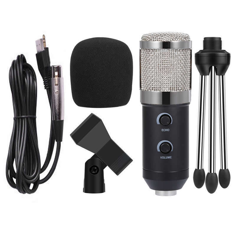 Ituf BM900 Professional Condenser USB Microphone for computer BM-800 Upgraded Audio Studio Vocal Recording KTV Adjustable volume-01