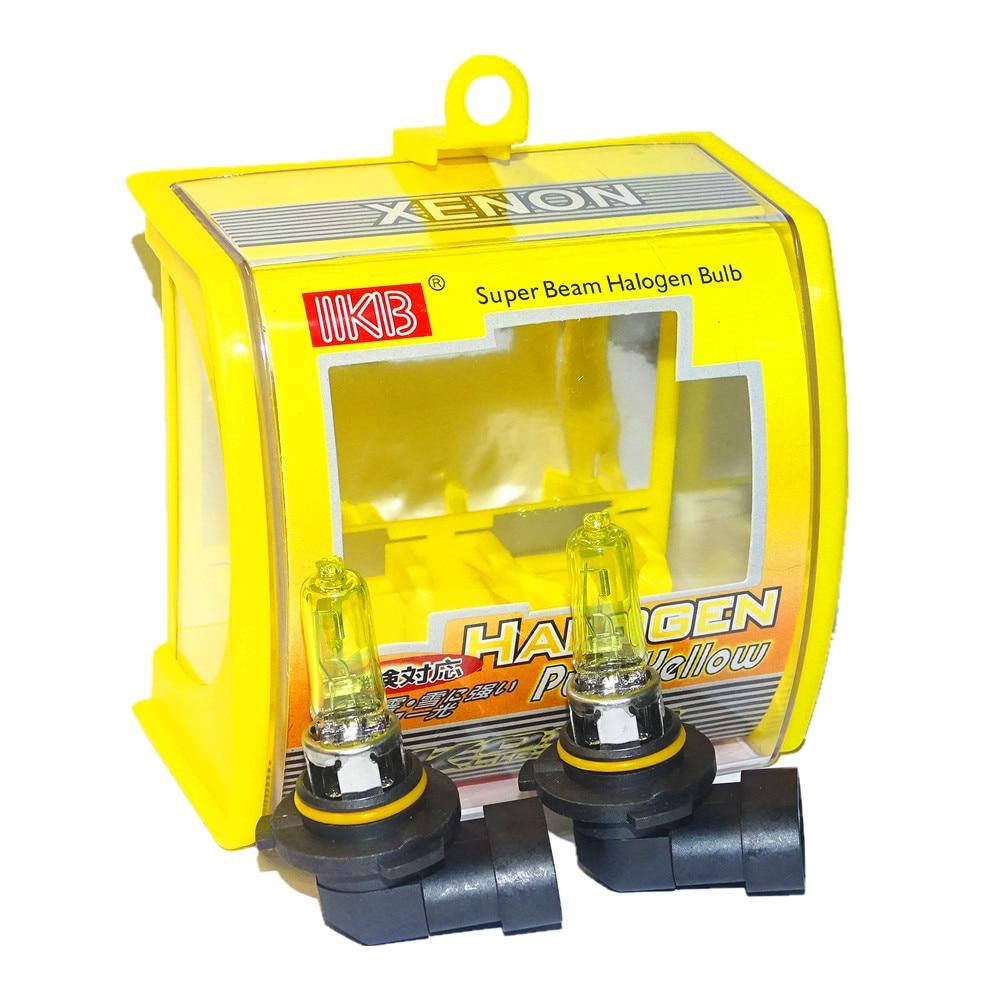 10x HB3 9005 12 V 65 W 3000 K jaune Super lumineux xénon voiture phares ampoules Auto phare phare antibrouillard ampoule Automobile Source lumineuse