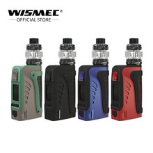 Wismec Reuleaux Tinker 2 Waterproof kit 200W With Trough Tank 6.5ml fit WT coil Electronic Cigarette Kit 100% original wismec reuleaux rx2 3 tc 150w 200w box mod powered by two three cells with upgradeable firmware