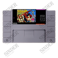 Spiderman X-men 16 Bit NTSC Big Gray Game Card For USA Version Game Player