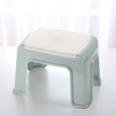 Groovy Us 14 76 21 Off Safety Thick Plastic Stool Foot Step Stool Pregnant Women Black Stool Plastic Nail Bath Chair Waterproof Bench Home In Children Ibusinesslaw Wood Chair Design Ideas Ibusinesslaworg