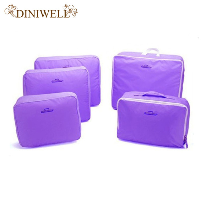 DINIWELL  Portable Travel Luggage Suitcase Clothes Underwear Packing Cubes Organizer Container Storage Bag Pouch