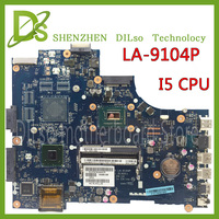 KEFU LA 9104P for dell 3521 5521 laptop motherboard la 9104p dell motherboard i5 CPU orginal Test motherboard