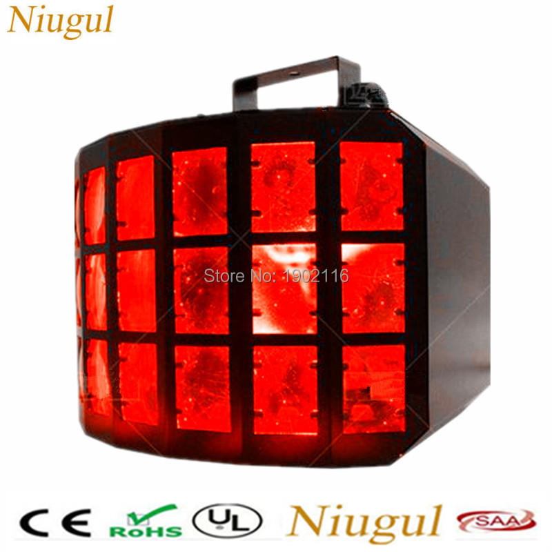 RGBW 4IN1 50W Professional KTV Bar Club Party Wedding Stage Lighting LED three layers Butterfly DJ Disco Light Beam effect light wedding lighting entertainment system modern outdoor professional commercial lighting led dj light mini party for mixer audio
