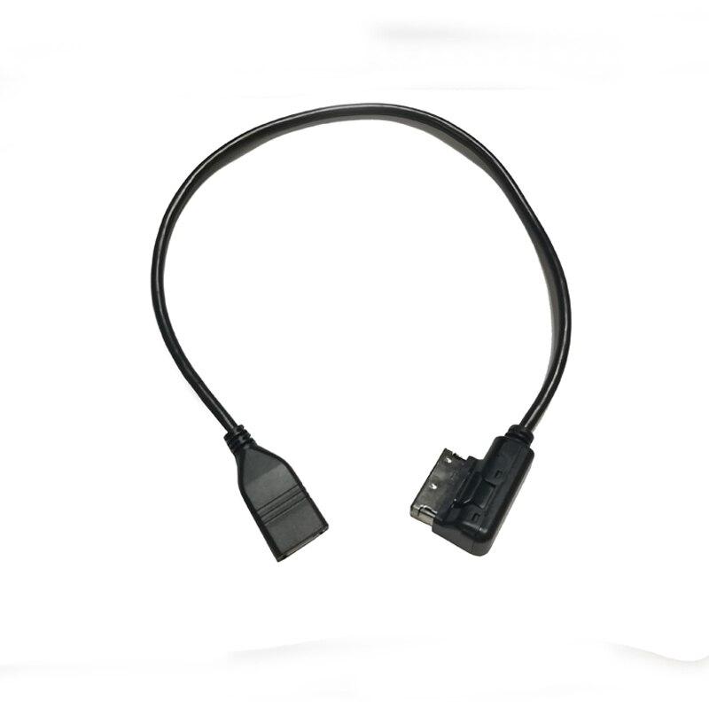 Car media interface AMI MMI USB AUX cable USB audio cable adapter for Audi A3 8V S3 A4 B6 B7 B8 A6 C6 C7 Q7 for VW Golf 6 Passat(China)