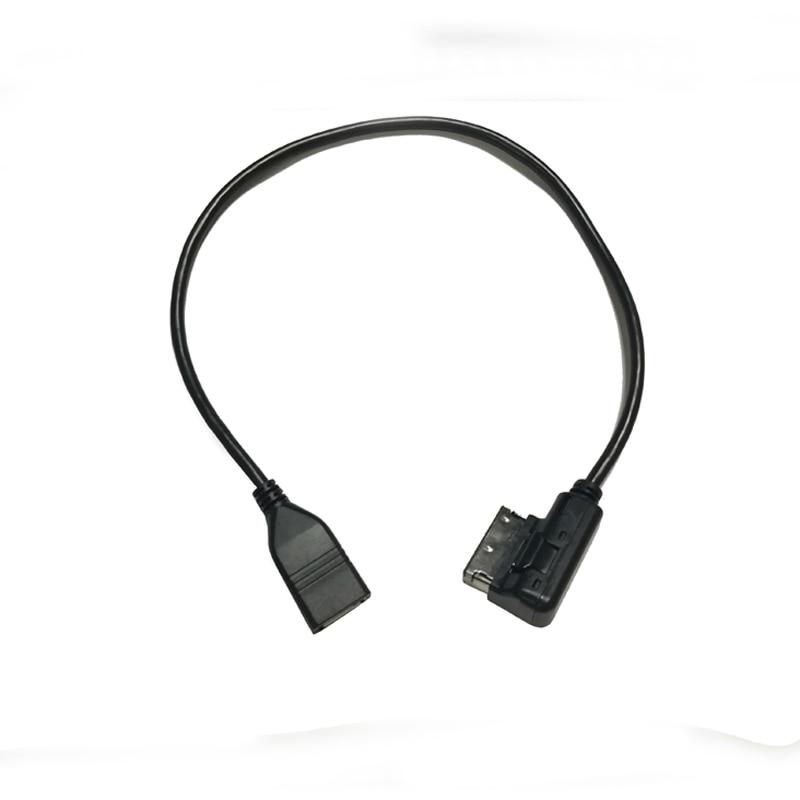 Interface multimédia de voiture AMI MMI USB câble AUX adaptateur de câble audio USB pour Audi A3 8V S3 A4 B6 B7 B8 A6 C6 C7 Q7 pour VW Golf 6 Passat