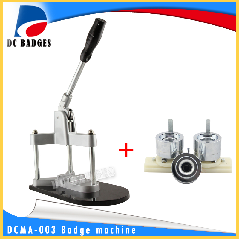 Factory direct sales triangle machine button badge making machine including 25 mm plastic mold slide