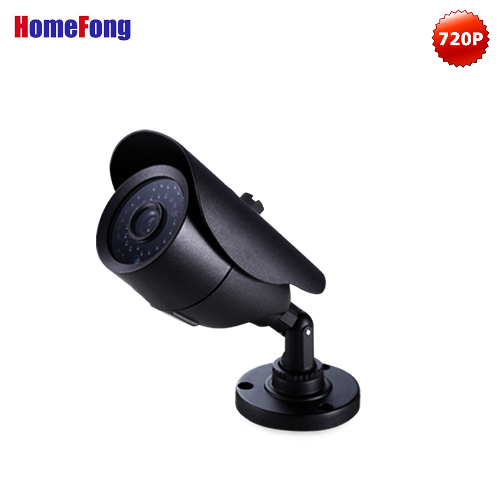 Homefong Video Camera AHD 720P Surveillance Camera with 3 6mm Lens Day Night Vision for AHD
