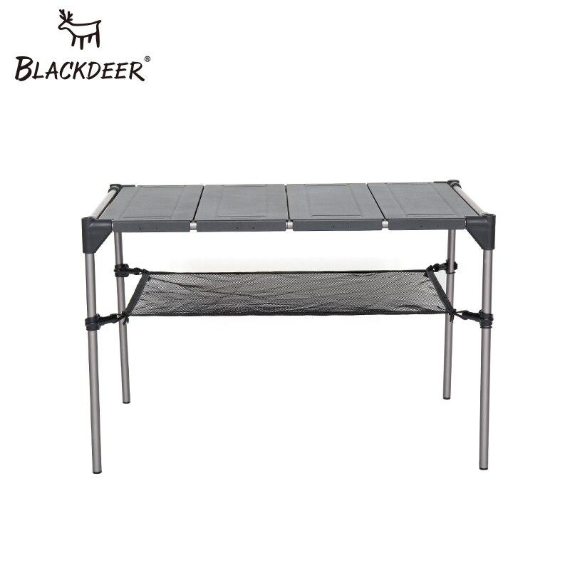 BLACKDEER открытый кемпинг стол Алюминий сплава складной стол Портативный Пикник Рыбалка Пивной Стол легкий дождь доказательство съемная