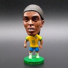 Brazil Soccer Stars Lovely Action Toys