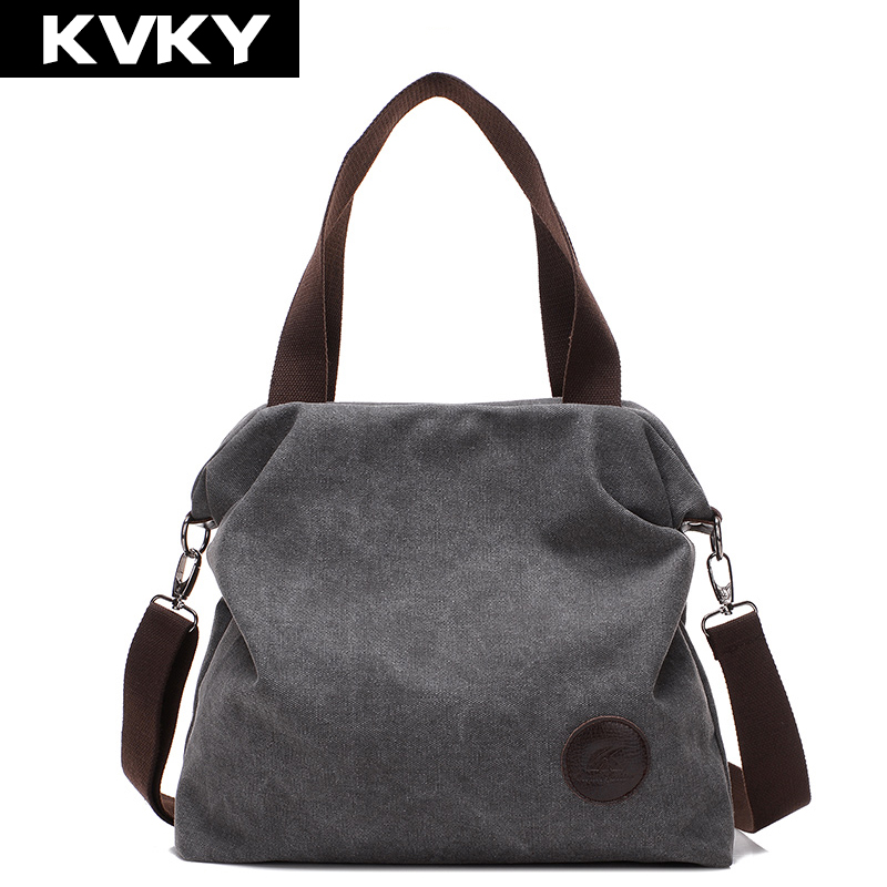 KVKY 2017 Women Bag Vintage Canvas Handbags Messenger bags for Women Handbag Shoulder Bags High Quality Casual bolsa feminina new 2016 women bag vintage canvas handbags messenger bags for women handbag shoulder bags high quality casual bolsa l4 2669