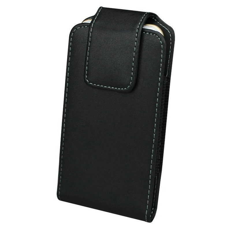 25f971dc2d9 Cuero 360 grados giratorio cinturón clip holster para iPhone 8 más 7/6 s  5.5 pulgadas