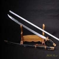 무료 배송 전체 수제 최고 품질 중국어 진 sword 스틸 클레이 스틸 sharp