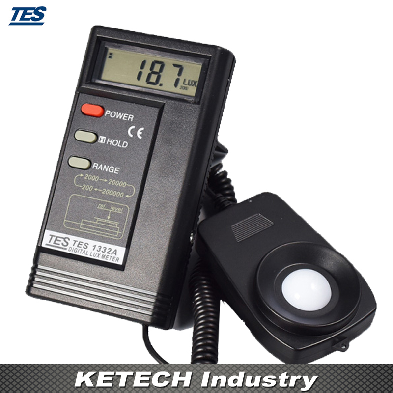 TES1332A Portable Thermometer Digital Light Meter mary tes w15102142288