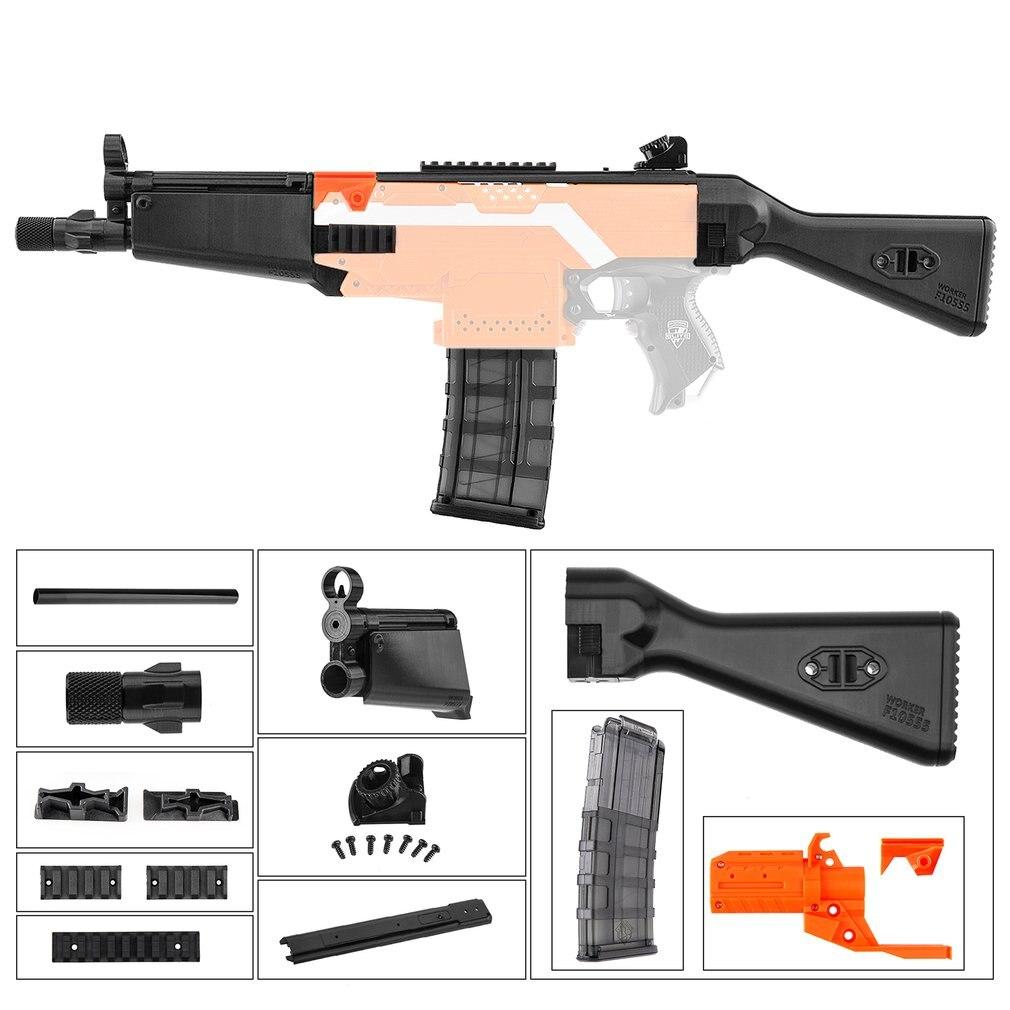 Bricolage jouet pistolets haute résistance en plastique MOD F10555 MP5A fusil 3D impression Kit d'imitation Compatible pour Nerf STRYFE modifier jouets meilleur cadeau
