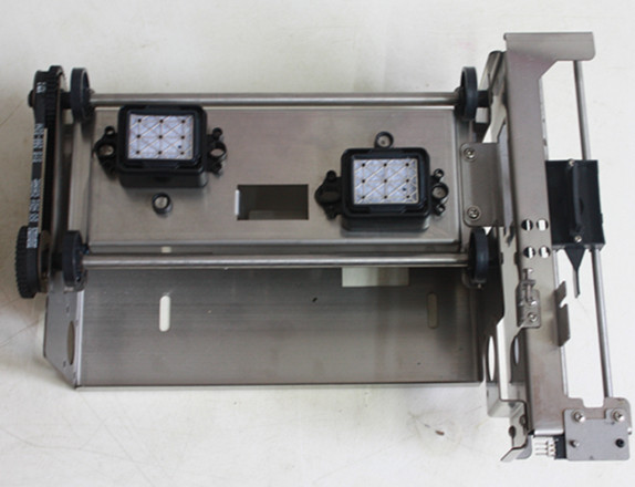 Cheap price new double dx5 heads pump assembly for Zhongye eco solvent printer
