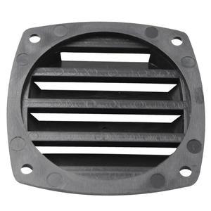 Image 1 - 3 Polegada preto plástico louvered aberturas ventilação marinha ventilação para barco iate acessórios de ventilação de ar 8.5cm * 8.5cm * 2.5cm