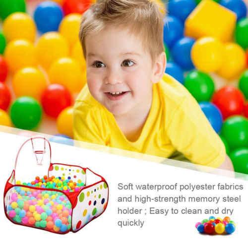 Pudcoco Produk Terbaru Hot Bayi Baru Lahir Balita Portabel Anak Anak bola Pool Bermain Tenda untuk Bayi Indoor Dan Outdoor Permainan mainan