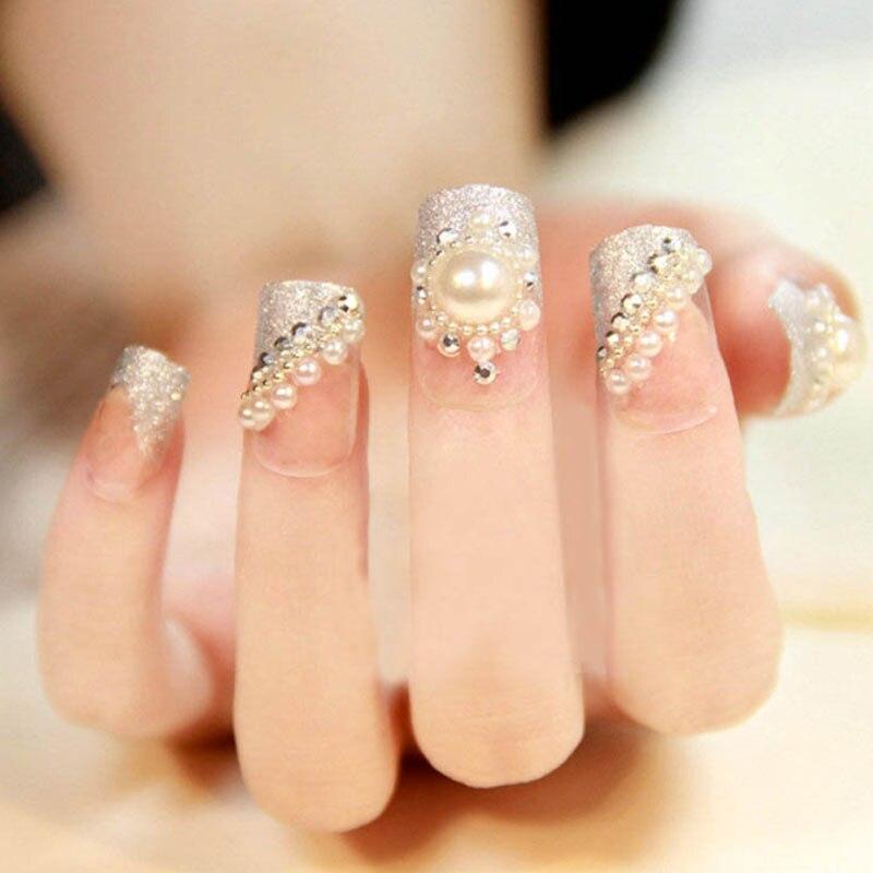064 5 De Descuentodecoraciones De Uñas De Diamantes De Imitación De Perlas Recién Llegadas Perlas Para Uñas Suministros De Uñas Acrílicas 3d