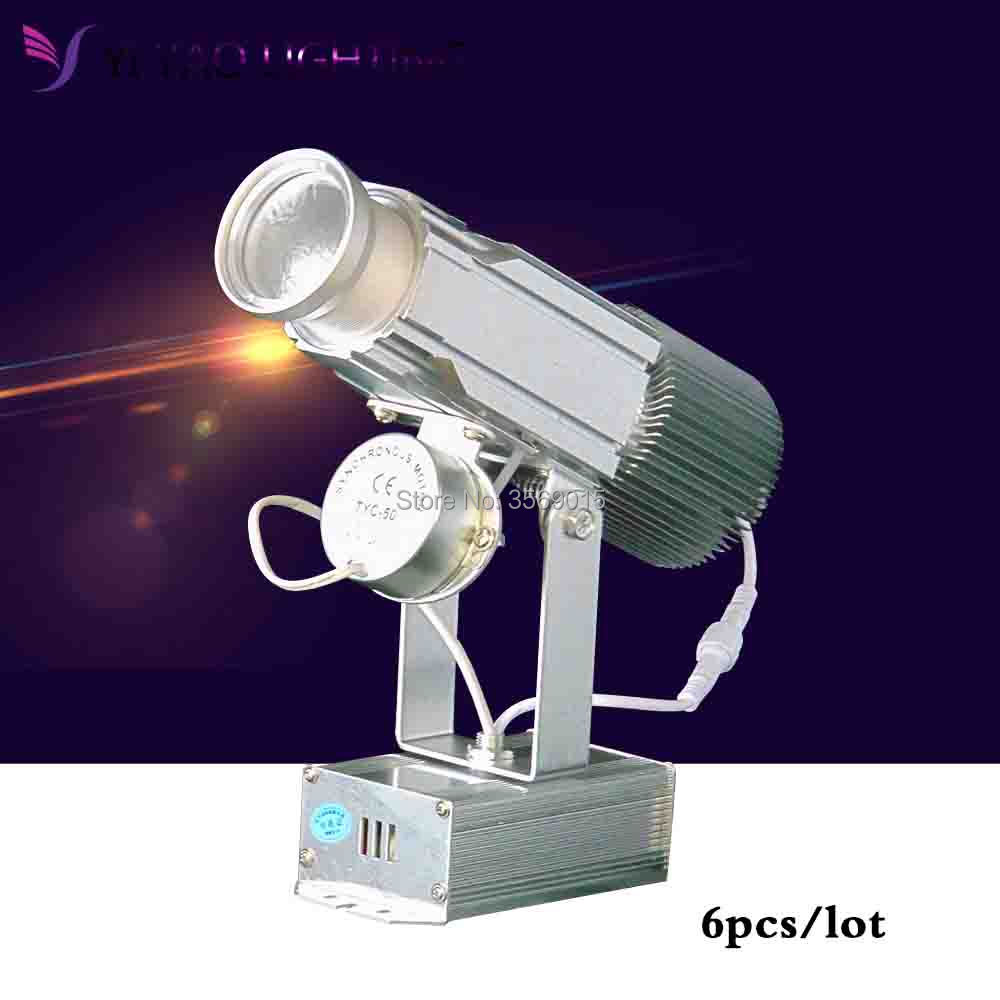 6pcs/lot Hot Sale Custom Design Outdoor Stage Light Special Effect 30W LED Gobo Projector Not waterproof LED Projector Lights6pcs/lot Hot Sale Custom Design Outdoor Stage Light Special Effect 30W LED Gobo Projector Not waterproof LED Projector Lights