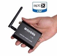 Wholesale Music Hall Latest Mini HiFi Bluetooth4.2 Audio Receiver DAC Decode Digital Turntable Headphone/OPT/COAX