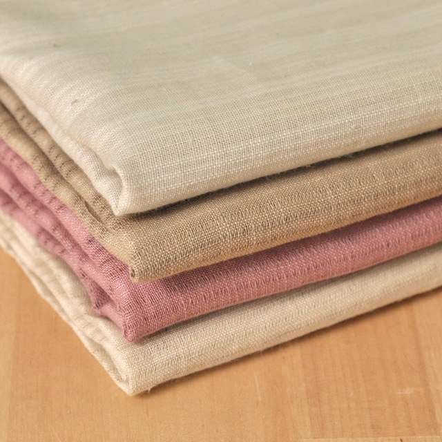 Sen Department Of Idyllic Village Style Striped Cotton Muslin Fabric Door Curtain Original Clothing Chinese
