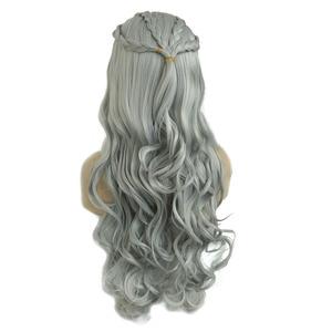 "Image 2 - StrongBeauty Daenerys Targaryen Drache Prinzessin Cosplay Perücke Halloween Kostüm Perücken Synthetische 32 ""in Net gewicht 500g"