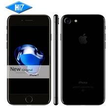 Новый Оригинальный Apple iPhone 7 2 ГБ ОЗУ 32/128 ГБ/256 ГБ ROM IOS 10 LTE 12.0MP Камера Quad Core Отпечатков Пальцев Марка Сотовые Телефоны iphone7