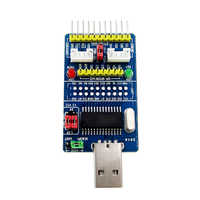 (D42) CH341A USB to SPI I2C IIC UART TTL ISP Serial Adapter Module EPP/MEM Converter For Serial Brush Debugging RS232 RS485