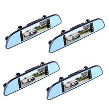 On sale 6.86 inch Touch Screen WIFI GPS Navigator Bluetooth Car DVR Camera Driving Video Recorder Dual Lens Digital Rear view Dash Cam