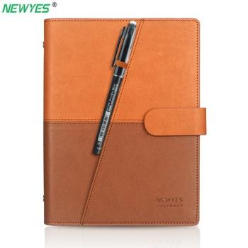 NEWYES Dropshipping Cancellabile Carta Notebook In Pelle Riutilizzabile Smart Notebook Cloud Storage di Archiviazione Flash