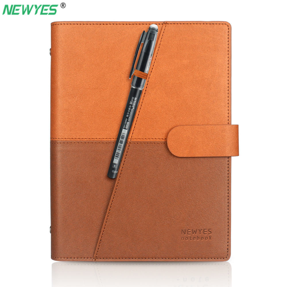 NEWYES Dropshipping Erasable Notebook Paper Leather Reusable Smart Wirebound Notebook Cloud Storage Flash StorageNEWYES Dropshipping Erasable Notebook Paper Leather Reusable Smart Wirebound Notebook Cloud Storage Flash Storage