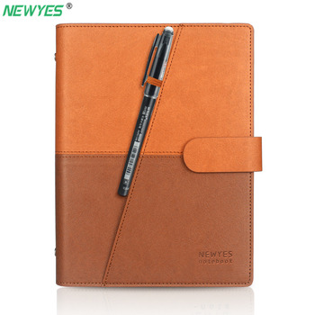 NEWYES Dropshipping Löschbaren Notebook Papier Leder Reusable Smart Notebook Cloud-Storage-Lagerung