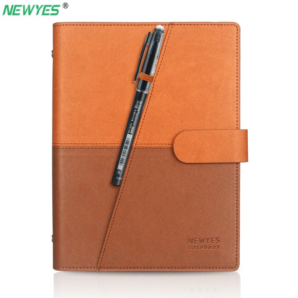 NEWYES дропшиппинг стираемый блокнот бумажный кожаный многоразовый Смарт ноутбук Облачное хранилище флэш памяти|Записные книжки|   | АлиЭкспресс