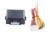 Em Estoque! módulo mais perto da janela de poder Universal 4 porta automática de rolamento para cima compatível com todos os alarmes de carro