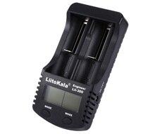 LiitoKala Lii-300 Digital 18650 Charger LCD Display Battery capacity test 18650 carregador bateria charger Free shipping