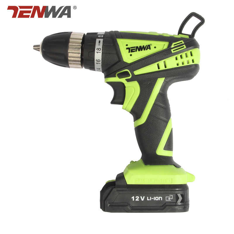 Tenwa12V Electric Cordless Drill Screwdriver Lithium Battery Rechargeable Parafusadeira Furadeira Multi-function Electric 25v electric screwdriver lithium battery rechargeable parafusadeira furadeira multi function cordless electric drill power tools